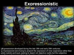 Expressionistic